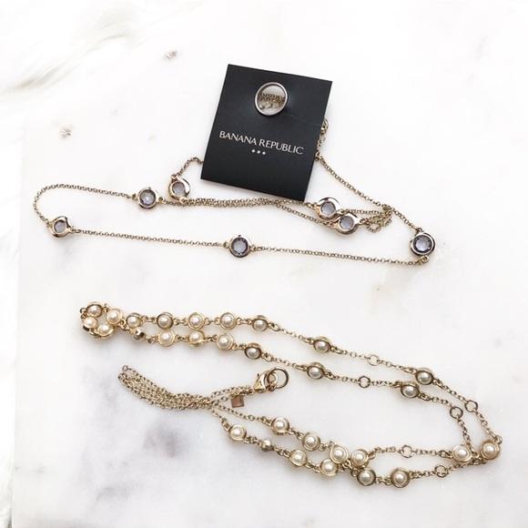 Banana Republic Jewelry - Banana Republic Long Necklace Bundle
